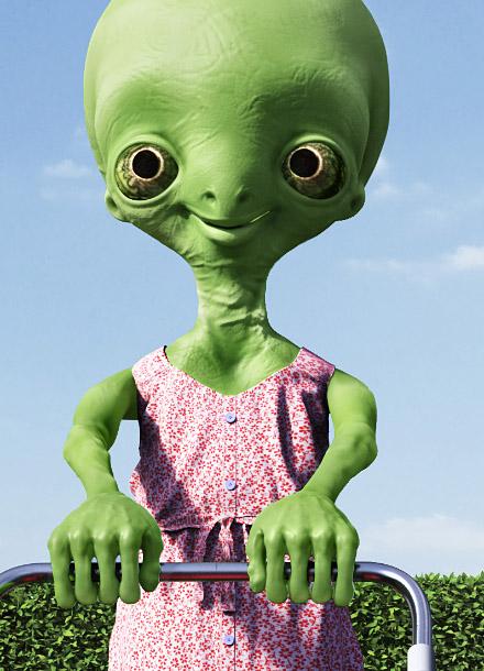 Energy M Alien