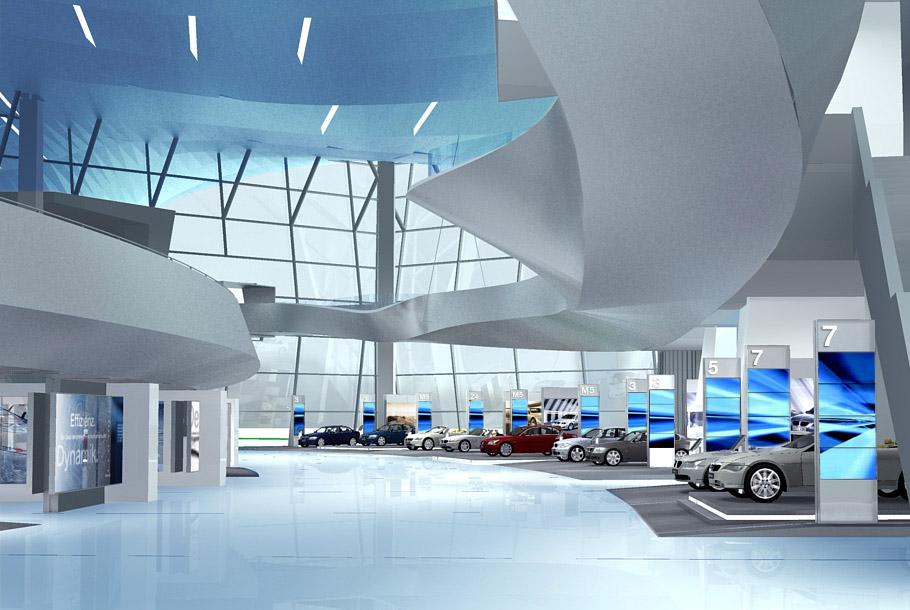 BMW Welt Realtime